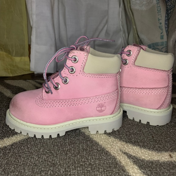 Timberland Other - Pink Timberland Boots (Toddler 6)